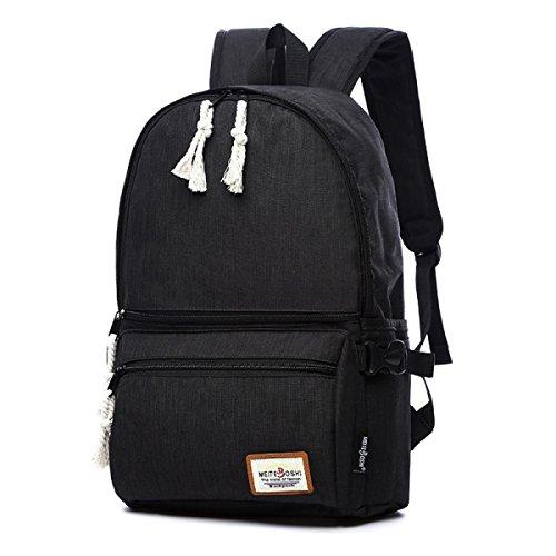 YUEER Herren Rucksack Student Computer Tasche Oxford Tuch Multifunktions Mode Sport Tragen Wasserdicht Atmungsaktiv E