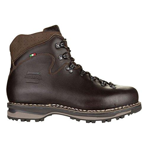 Zamberlan Mens 1023 Latemar NW Leather Boots Brun Foncé