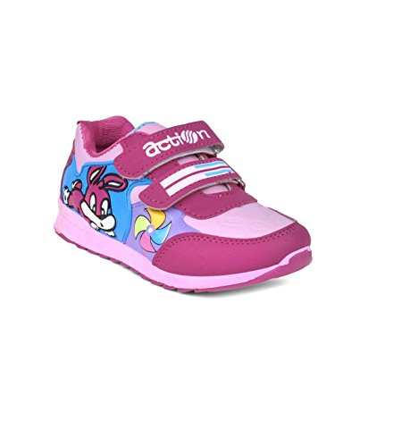 Action Shoes Dotcom Kids Sports Shoes Ks-568-Pink  available at amazon for Rs.335