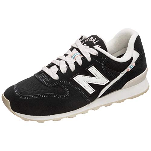 New Balance WR996-D Sneaker Damen schwarz/weiß, 9 US - 40.5 EU - 7 UK