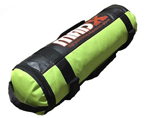 madx Power Chiffon/sable de boxe d'entraînement fitness 0–30kg vert Vert Unfilled