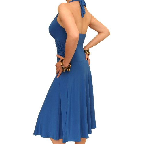 Blue Banana - Neck-Holder Kleid Schwarz