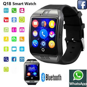 Lenovo P780 4GB Compatible Black High quality smart calling watch with all functions of smartphones 2017 Newest Q18 Smart Watch Bluetooth Smartwatch Phone with Camera TF SIM Card Slot by JOKIN  available at amazon for Rs.5199