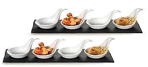 Ritzenhoff breker 311921 scivaro set per aperitivo e for Ardesia per cucinare