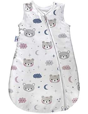 MamyNukas Baby Schlafsack - Winterschlafsack/Sommerschlafsack für Jungen und Mädchen - luftdurchlässig & bequeme...