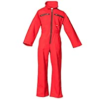 Planam 161158 Size 158/164 Children's Overall - Mid Red