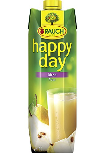 Rauch Happy Day Birne, 12er Pack (12 x 1 l Packung)