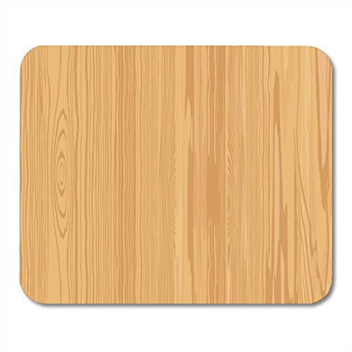 AOHOT Mauspads Wood Wooden Grain Pattern Oak Light Tree Mouse pad 9.5