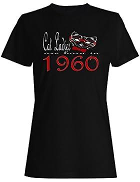 Damas de gato nacen en 1960 camiseta de las mujeres b797f
