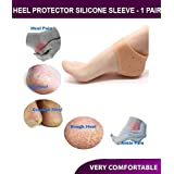 Peecure Silicone Gel Heel Pad Socks for Pain Relief for Men and Women