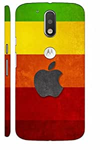 KALAKAAR Printed Back Cover for Motorola Moto G4 Plus,Hard,HD Matte Quality,Lifetime Print Warrenty