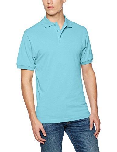 James & Nicholson Herren Poloshirt Classic Polo Blau (Pacific)
