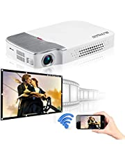 Egate X6 Miracast / Multiscreen Compact Pocket Size DLP Pico Projector
