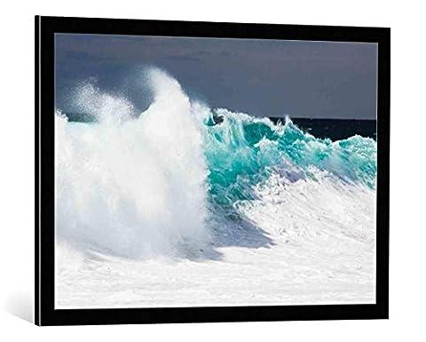 "Image encadrée: Wim Westfield ""Baja California"" - impression d"