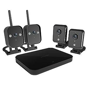 Zmodo vídeo MK-2098canales CCTV Sistema de vigilancia de red con 4600TVL exterior Visión Nocturna De Vigilancia sin disco duro