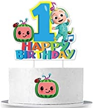 Cocomelon Cake Topper Birthday Cake Decoration for 1st first Birthday