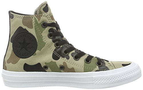 Converse Chuck Taylor All Star Ii, Sneakers Hautes Mixte Adulte Multicolore (Sandy/Chocolate/White)