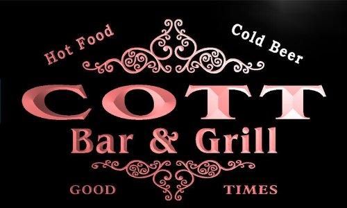 u09232-r-cott-family-name-bar-grill-cold-beer-neon-light-sign-enseigne-lumineuse