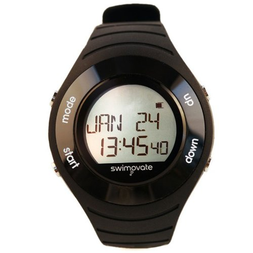 Swimovate Pool Mate HR Swimming Computer Sports Watch Heart Rate Monitor