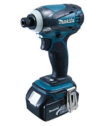 Makita DTD146RMJ Taladro Atornillador, 18 V, Negro, Azul
