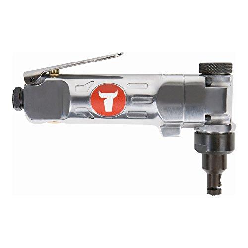 STIER Blechknabber | BK-12 | Länge 176 mm | incl. Stecknippel 1/4' | Blechnibbler | zum Schneiden von flachen Materialien aus Blech, Edelstahl oder Kunststoff |