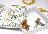 Geldgeschenk Verpackung für Geld zur Hochzeit PERSONALISIERT Lasst Liebe wachsen!