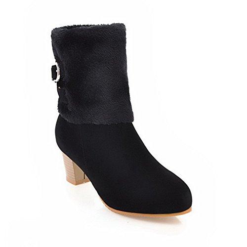 BalaMasa Sandales Femme Abl10671 Noir Compensées qq80gXwS