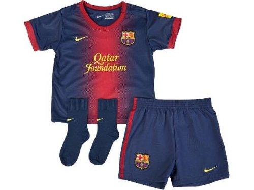 NIKE Baby Dreiteiler FC Barcelona Infants Home Kit (3-36 Monate), Midnight navy/stormred/tour, 18-24, 478320