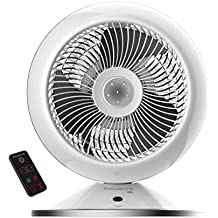 Rowenta HQ7112F0 Air Force Hot & Cool - Ventilador y calefactor con mando a distancia,
