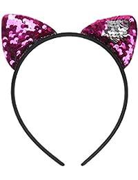 2er Kaninchen Ohr für Baby Mädchen /& Mutti Graue Stirnbänder Kopfschmuck