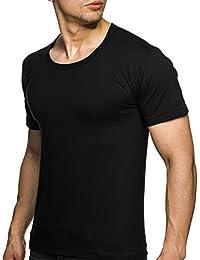 Herren Unterhemd T-Shirt Rundhals