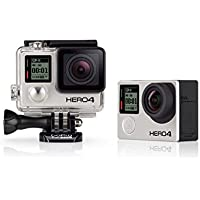 GoPro HERO4 Black Motorsport Actionkamera (12 Megapixel, 41,0 mm x 59,0 mm x 29,6 mm)