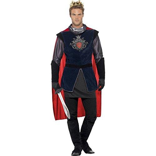 Smiffys Kostüm mittelalterlicher König für Männer -