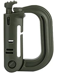Highlander Grimloc D Ring 25mm Webbing Attachment Carabiner Clip