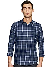 LAWMAN PG3 Men's Checkered Slim fit Casual Shirt