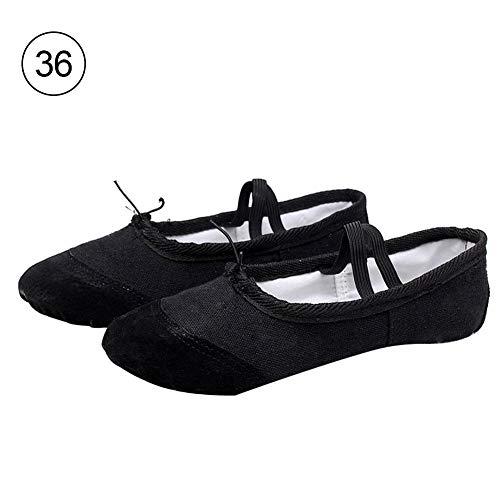 3697c1e2 H-sunshy Ballet Shoes Girls Canvas Ballet Slipper/Ballet Flats Shoes/Yoga  Dance