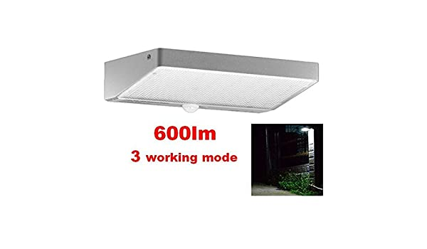 Solar Power Light 48 LED PIR Motion Sensor Security Outdoor Garden Wall Lamps