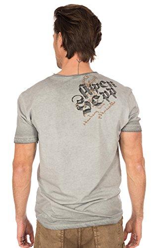 Hangowear Trachtenshirt Beppi Austria Grau, XL - 4