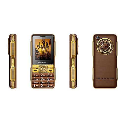 Maschine des Alten Mannes, Touch Screen alte Telefon-Handschrift-großer Schlüssel-Vergrößerungsglas-Leseglas vibrieren schwarzen Listen-Lauten Ton Senior-Handy GPRS (Kaffee)