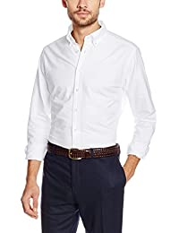 Hackett London Slim Washed Oxford, Camisa para Hombre