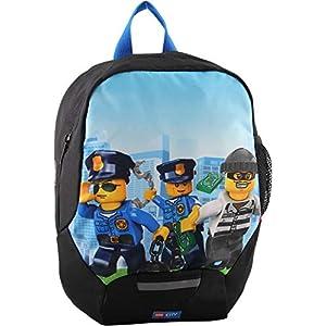 LEGO Bags Lego Bags - Zaino leggero per bambini con Lego City, 32 cm, Police Chopper (Blu) - 400806457  LEGO