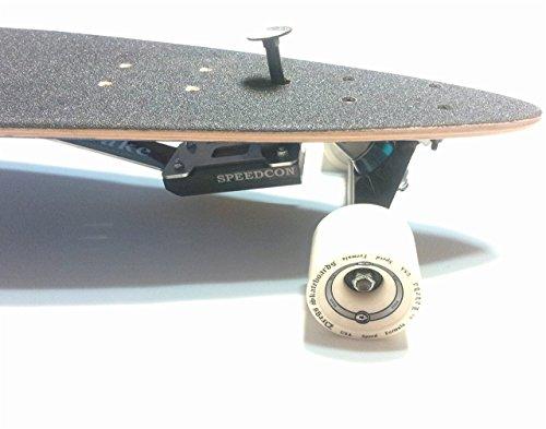 Longboard Bremse 2.0 für Top Mount (Ein Gummi-Brems-Kit) Test