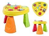 Alsino Play Go Lerntisch Spieltisch Spieltafel Kinder Baby Kreativ Spielzeug ab 1 Jahr 2238