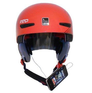 KOKKIA H10 (cavi BIANCO) Auricolari stereo da casco per sport/motocicletta, ottimi alti e bassi - connettibile con iPod/iPhone/iPads/MP3/CD/ricevitori Bluetooth con jack audio di 3.5 mm. Per usi del casco regolari o temerari, sport estremi, sci, snowboard, etc.