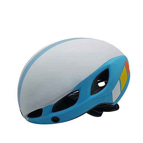 WSW Fahrradhelm Leuchtende Magnetische Reithelm Integrierte Form Mountain Road Reithelm Männer Und Frauen Goggles Helm Persönlichkeitssicherheit (Size : L)