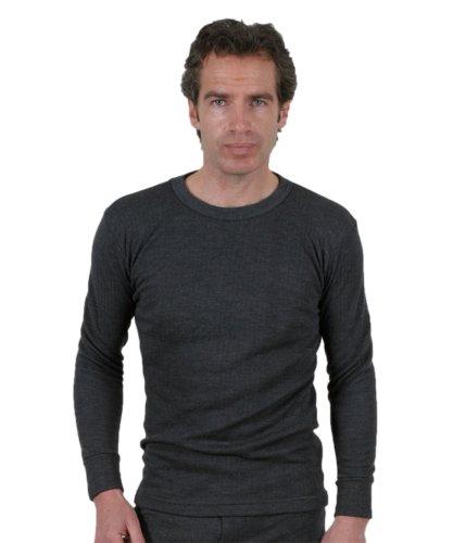 2 Maillot de Corps Sous-Vêtements Thermique Masculin/Homme Manches Longues Différentes Couleurs Et Tailles