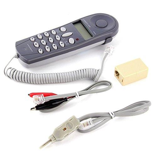 Cruiser P522G50MNSK Telefon Line Netzwerk Kabel Tester Butt Test Tester Lineman Werkzeug Kabel Set mit Steckern und Tischler