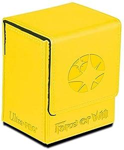 Amigo Spiel + Freizeit Ultra Pro 84699-Force of Will Light Magic Stone Flip Caja, Juego de Cartas