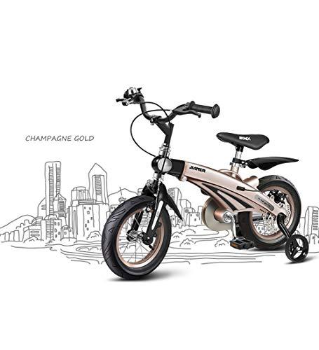 SJSF Y Mit dem Fahrrad für Laufräder von Boy, mit Rahmen aus Magnesiumlegierung, um die Proportionen Ihres Kindes anzupassen, 12-14-16- Zoll Radgrößen,12inches (12 Zoll Fahrrad Boys)