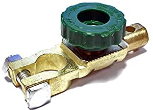 Green Wheel Car Marine Heavy Duty Battery Cut Off Isolator Switch 6v 12v 24v